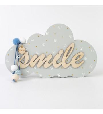 Ξύλινο Σύννεφο Smile