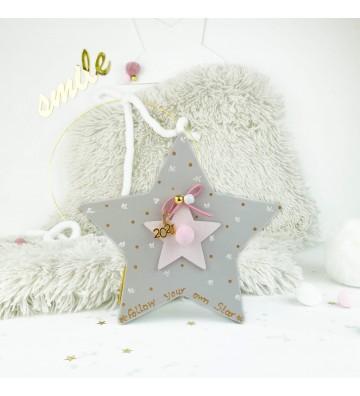 Ξύλινο Αστέρι - Girl