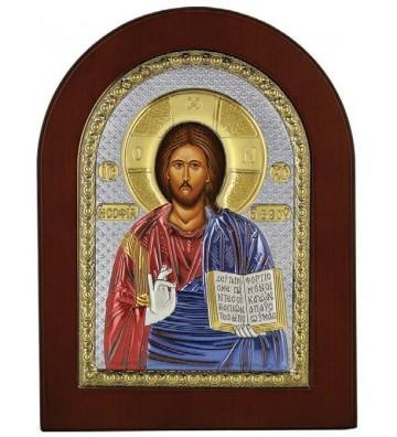 Ασημένια Εικόνα με το Χριστό