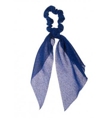 Μπλε Glitter Scrunchie...