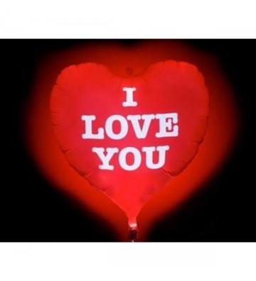 Κόκκινη Καρδιά Led Λάτεξ...
