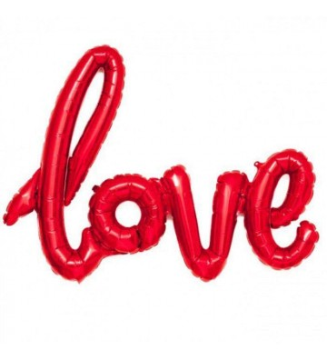 Μπαλόνι αγάπης Love Κόκκινο...