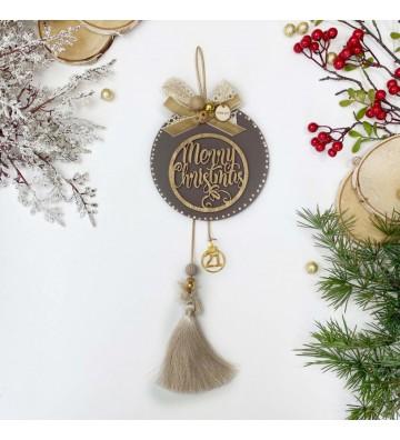 Κρεμαστό Γούρι Merry Christmas