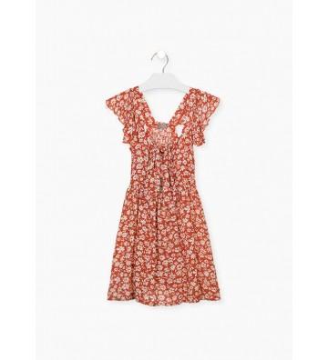 Φόρεμα με Λουλούδια Losan