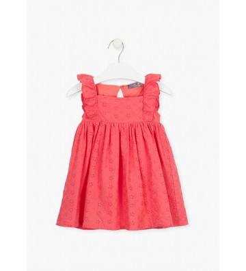 Φόρεμα με Κέντημα Losan