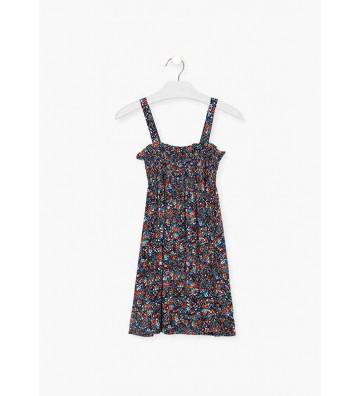 Φόρεμα Λουλουδάτο Losan