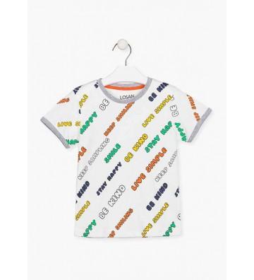 Μπλουζάκι με Γραφικά Losan