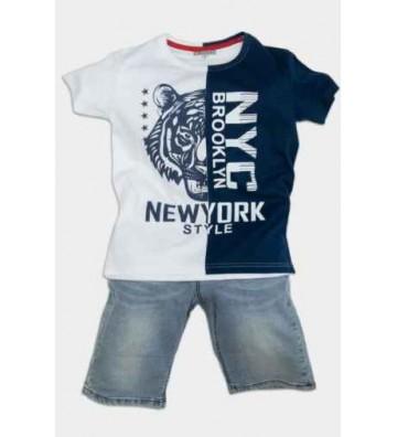 NYC Παιδικό Σετ με Βερμούδα...