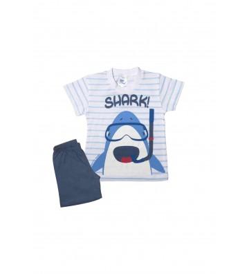 Shark Παιδική Πυζάμα Pretty...