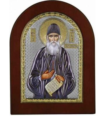 Ασημένια Εικόνα Άγιος Παΐσιος